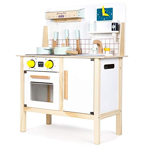 ECOTOYS Cocina de madera para niños