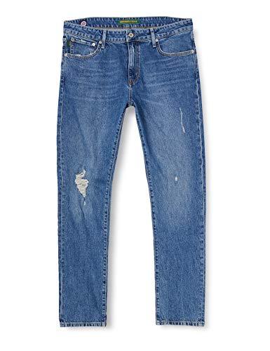 Superdry Slim Jeans, Albany Vintage Blue, 29W / 32L para Hombre