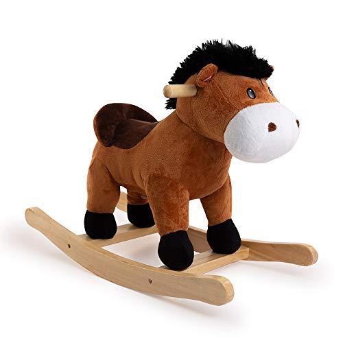 Ponyland Rocking Brown Horse w/ Sound (Rocker)