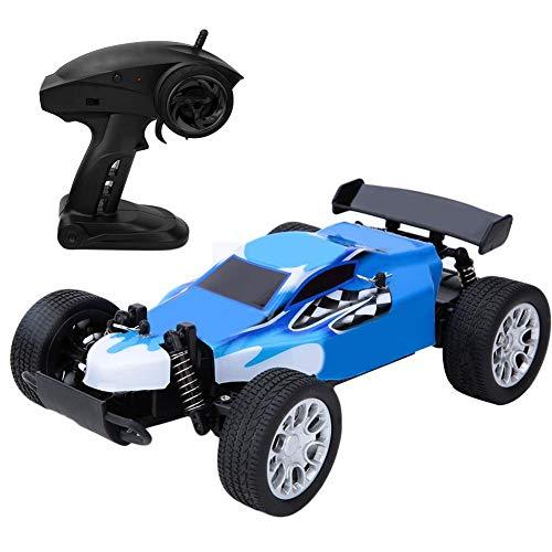 Coche de control remoto para niños, Coche teledirigido de 2.4GHz No. 36 Coche de alta velocidad a 20 km / h Coche de juguete 1/20 RC todoterreno, Juguetes para niños Coches para niños de 8 años(Azul)