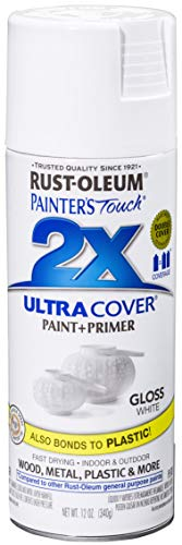 Rust-Oleum 249090-6 PK Painter's Touch 2X Ultra Cover, 6 Pack, Gloss White