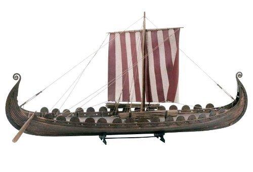 Billing Boats Modellbausatz Oseberg-Schiff, Wikingerschiff im Maßstab 1:25