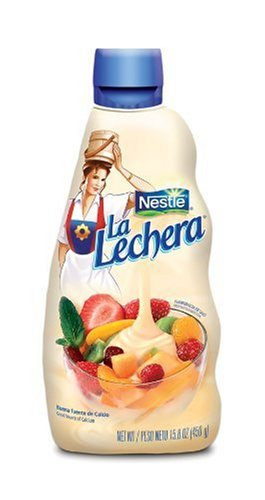 La Lechera Sweetened Condensed Milk, 15.8-Ounce Squeeze Containers (Pack of 4)