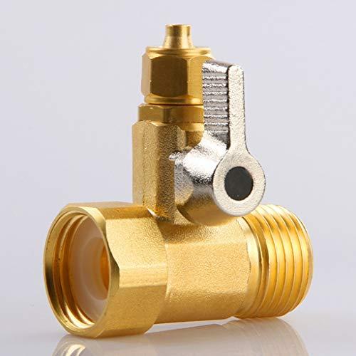 YWSZJ Adaptador de Agua de alimentación 1/2'a 1/4' Válvula de Bola de Filtro de Agua de Faucet Faucet Toque de la válvula de la válvula de la ósmosis para el Hardware del hogar