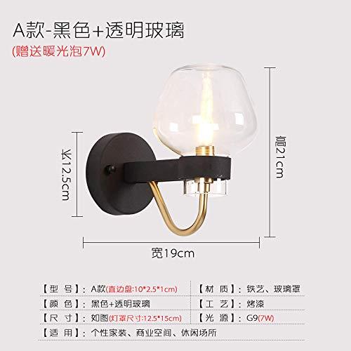 Lampade wandlamp wandlamp wandlamp wandlamp ijzer Nordic uit de ladder wand wandlamp uit de muur van de muur uit Nederland