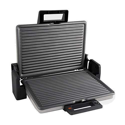 XXL Sandwich Toaster & Panini Maker | Indoor Grill | doppelte und extra große Grillfläche (2x 33x 24 cm) 180° BBQ Grillen