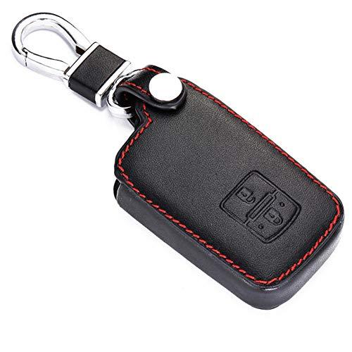 NFRADFM Protector de Llave de Coche, Funda de Cuero para Llave de Coche, Funda Protectora con Mando a Distancia sin Llave, para Toyota Avalon 2012-2018