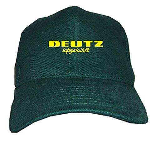 Bimaxx® Oldtimer Kappe | Deutz Luftgekühlt | grün