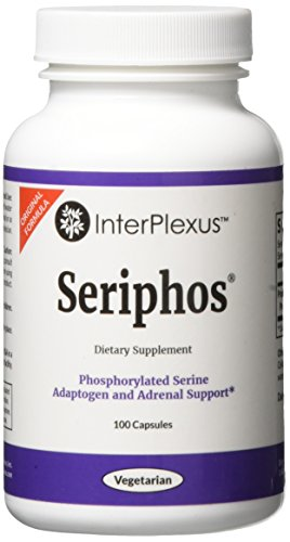 Seriphos for Adaptogen and Adrenal Support by InterPlexus, 100 capsules