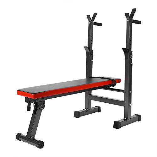 Yosoo Bench Exercise Adjustable Folding Home Gym Exercise Fitness...