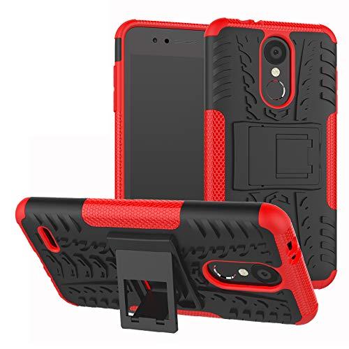 Labanema LG K8 / LG K9 2018 Hülle, Abdeckung Cover schutzhülle Tough Strong Rugged Shock Proof Heavy Duty Hülle Für LG K8 / LG K9 2018-Rot
