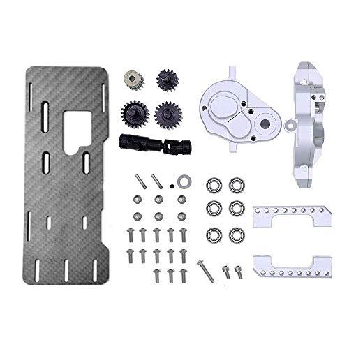 YELLAYBY Fase Paso a Paso Moto RC G2 Delantera del Motor Caja de Cambios Kit de 1/10 Bronco Actualiza Accesorios