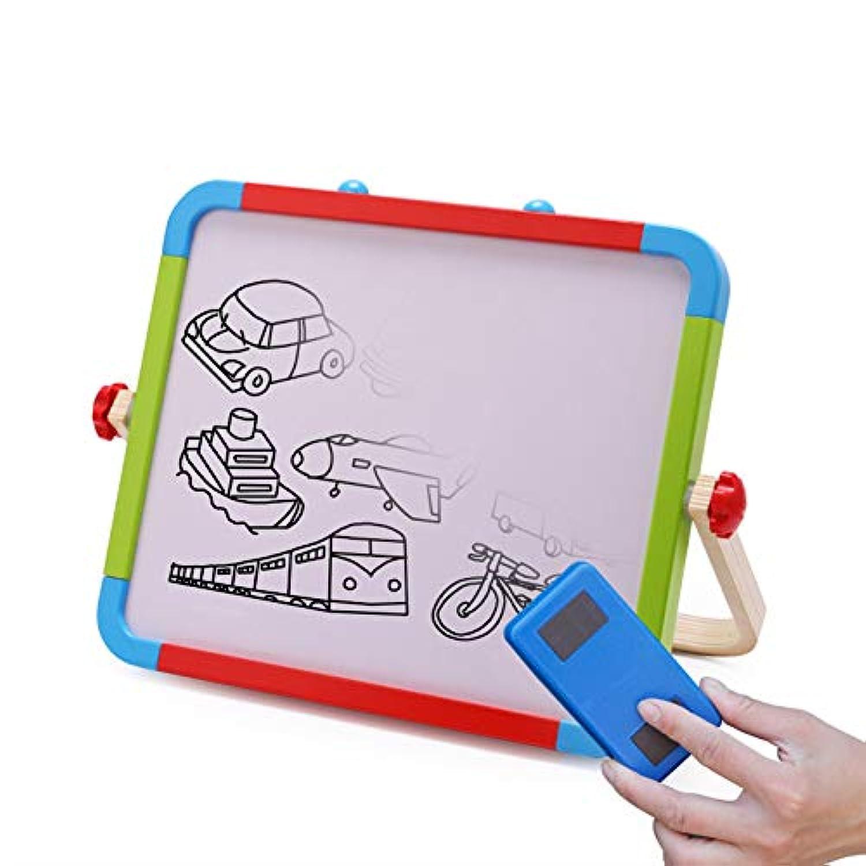磁気製図板、両面消去可能なスケッチ落書き書く絵画ボードカラフルな無毒スケッチパッド用学習幼児男の子女の子