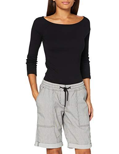 OPUS Damen Melvita Shorts, Black, 34
