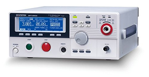 GW Instek GPT-9903A Sicherheitsprüfer, mit 500 V AC Prüfkapazität und PWM-Verstärker