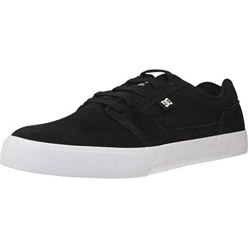 DC Shoes Herren TONIK Low-Top, Schwarz (Black/White/Black XKWK), 45 EU