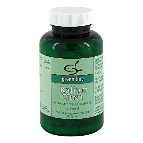 green line Nutritheke Kalium Citrat, 120 St. Kapseln