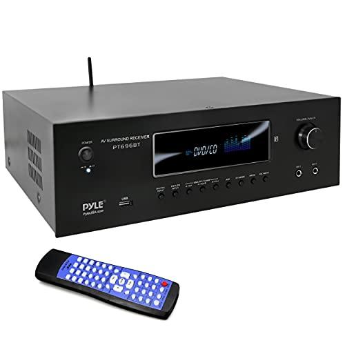 5.2-Channel Hi-Fi Bluetooth Stereo Amplifier - 1000 Watt AV Home Speaker Subwoofer Sound Receiver...