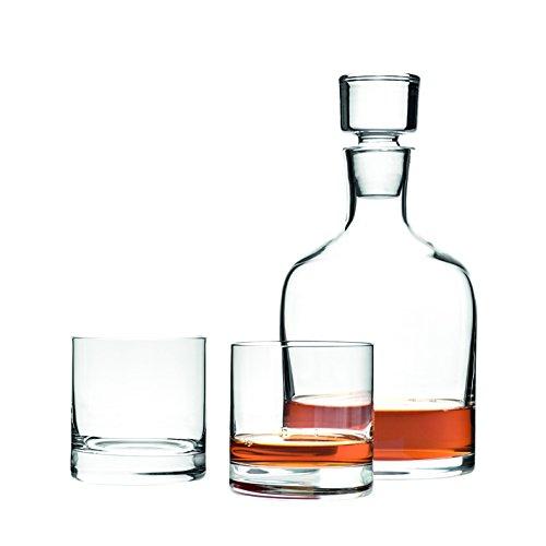 Leonardo Set/ 3 WH karaf +Tumbler Ambrogio, helder glas, 28,1 x 32 x 14 cm