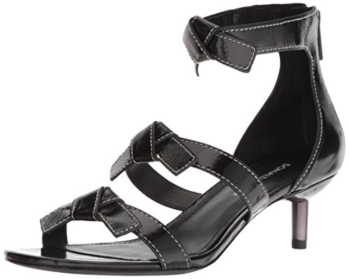Donald J Pliner Women's Cady Sandal, Black, 10 M US