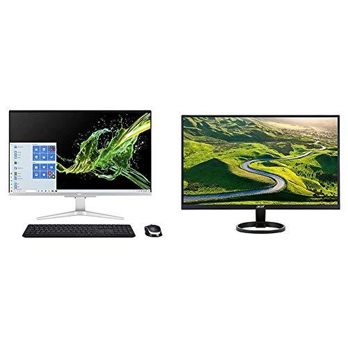 Acer Aspire C27-962-UA91 AIO Desktop with R271 bid 27-inch IPS Full HD (1920 x 1080) Display (VGA, DVI & HDMI Ports),Black