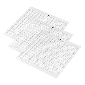 Aibecy - Alfombrilla de corte con agarre estándar y rejilla de medición para máquina de cortar Silhouette Cameo, tamaño A3: Amazon.es: Oficina y papelería