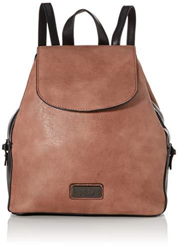 XTI 86146, Bolso mochila para Mujer, Rosa (Nude), 25x26x14