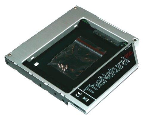 "HDD/SSD Adaptador Compatible con Apple iMac 20"" 21.5"" 24"" 27"" (2009-2011) sustituye SuperDrive 12.7 mm (SATA - SATA) - TheNatural2020"