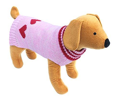 Doggy Things - Jersey para Perro con Estrellas, Color Negro