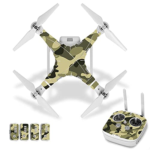 New Camo Camouflage Style Vinyl Skin Sticker per DJI per Phantom 3 Drone e Remote Controller 0021 Accessori per quadricotteri