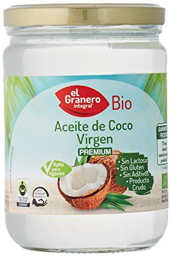 Granero Aceite De Coco Virgen Extra Bio 500 Ml Bote De 500...