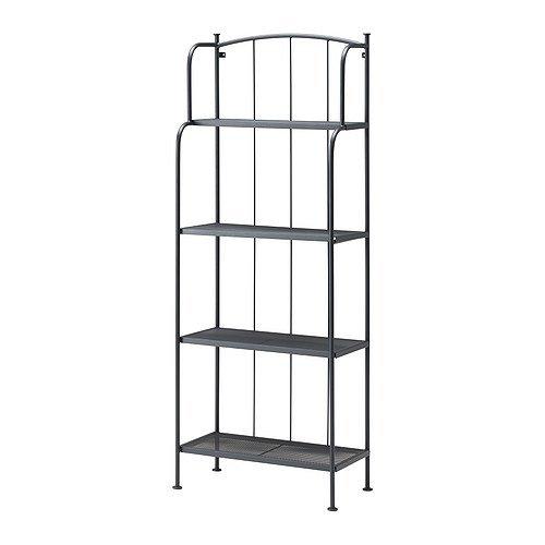 Ikea LACKO - Shelving Unit Grey - 61x160 cm