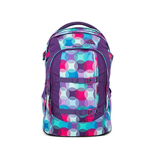 satch Pack Hurly Pearly, ergonomischer Schulrucksack, 30 Liter, Organisationstalent, Blau