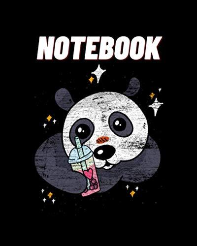 NoteBook: Panda Candy Panda Grunge Panda Notebook. panda gifts for women. panda kids gift. panda gift for girls. panda book. panda bear. book panda birthday pefect size:8x10-120pages