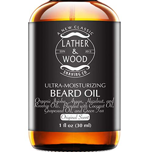 Ultra-Moisturizer Beard Oil For Men - Premium...