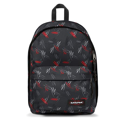 Eastpak OUT OF OFFICE Zaino Casual, 44 cm, 27 liters, Multicolore (Scribble Black)