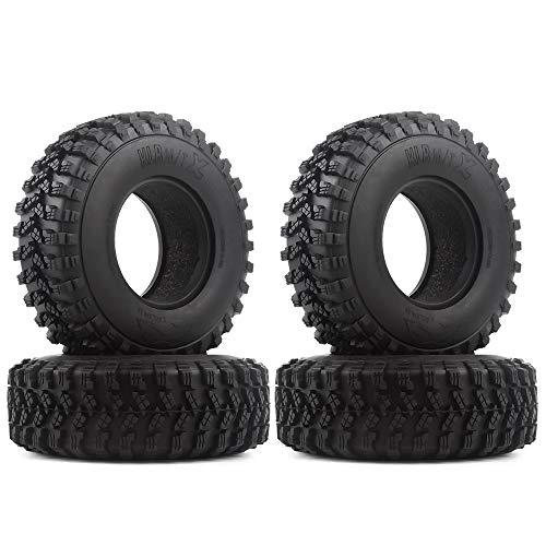 INJORA RC Reifen 4 Stücke 1,9 RC Crawler Reifen Reifen Set für 1:10 RC Rock Crawler Axial SCX10 SCX10 III AXI03007 D90 TF2 MST Tamiya