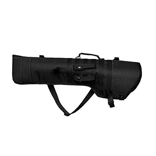 Hunting Explorer Fusil Tactique Long Carry Sac à Dos Shotgun Scabbard Militaire Molle Ambidextre Rembourré Gun Case Long Gun Protection pour Chasse Tir Airsoft