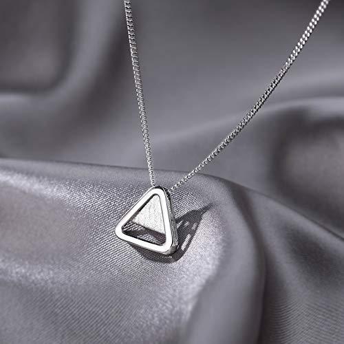 Niazi Muchas gracias por que usted mi Badass Collar con colgante de triángulo para niñas y mujeres.