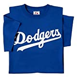 Majestic Athletic Los Angeles Dodgers Adult 3X Licensed Replica T-Shirt Jersey Blue