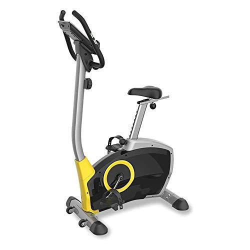 UIZSDIUZ Plegable Bicicleta estática, magnético Vertical de la Bicicleta, la Velocidad, Tiempo, Distancia, calorías del Monitor, for la Seguridad del Gimnasio
