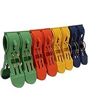 8-delad jumboklämmor, strandstolens handdukshållare klämmor för att förhindra att din handduk blåser bort