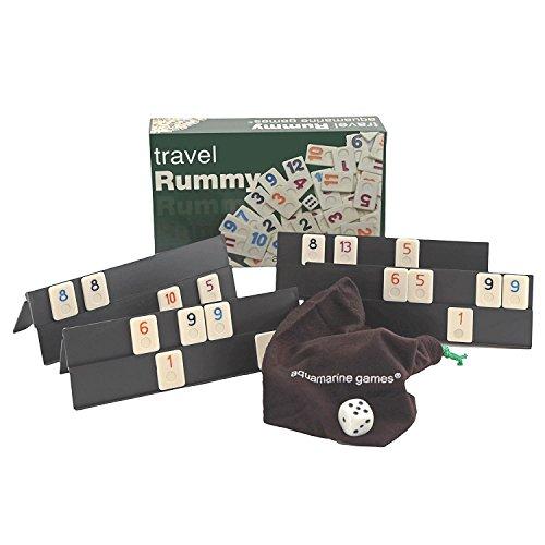 Outletdelocio. Juego Rummikub 4 jugadores. Version de viaje. 106 fichas