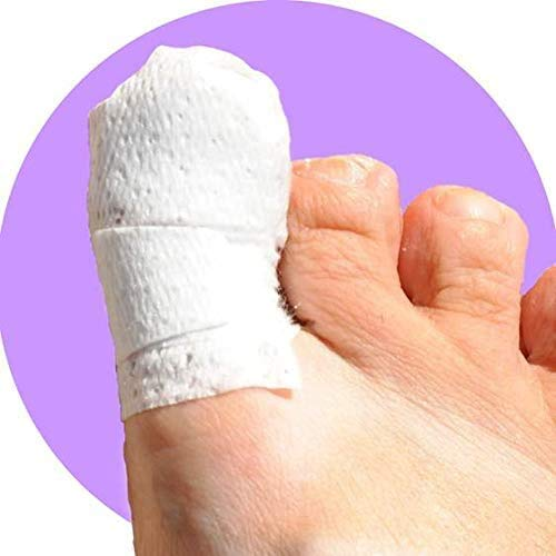 MediMitt ToeMitt Big Toe Bandages (Full Coverage Big Toe Bandage) (X-Large 10-Pack)