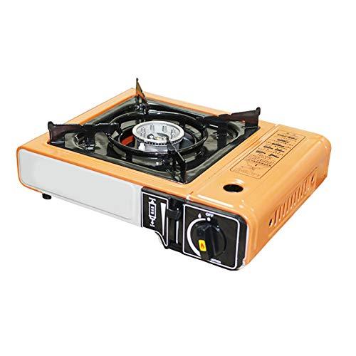 Buding Cocina de gas portátil para exteriores, cocina de gas, horno para tarjetas, camping, 34,5 x 28 x 11 cm