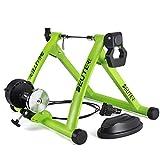 Soporte para Entrenador De Bicicleta De Interior Rodillos De Entrenador De Bicicleta Turbo Plegables con Ajuste De 6 Engranajes para Ejercicio Físico,Verde