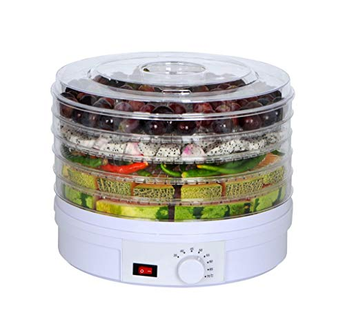 Sale!! LYX 245W Five-layer Dryer, Dried Fruit Machine Food Dehydrator Vegetable Air Dryer Home Pet F...