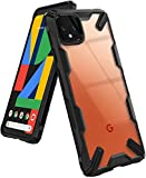 Ringke Fusion X Designed for Google Pixel 4 XL Case, Rugged TPU with Crystal Clear PC Protectio…