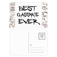 これまでに最高のclassmater卒業シーズン 公式ポストカードセットサンクスカード郵送側20個