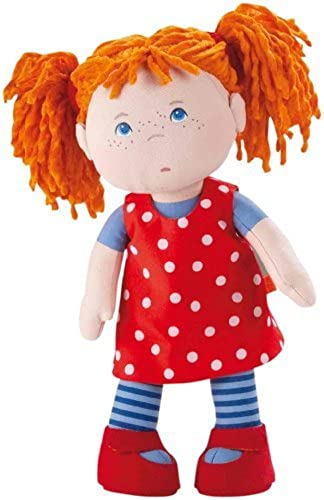 Haba Little Scamp Mette 12 Soft Doll with rot Hair and Blau Eyes